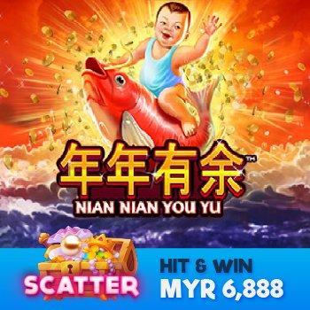 Nian Nian You Yu Scatter11 Casino Game